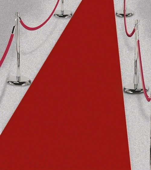 Roter Teppich 50 Cm X 4 5 M Boden Laufer Roter Teppich Hollywood Roter Teppich