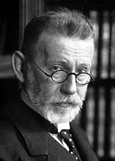 Paul Ehrlich (14 March 1854 – 20 August 1915) was a German physician and scientist who worked in the fields of hematology, immunology, and chemotherapy. He invented the precursor technique to Gram staining bacteria. The methods he developed for staining tissue made it possible to distinguish between different type of blood cells, which led to the capability to diagnose numerous blood diseases.