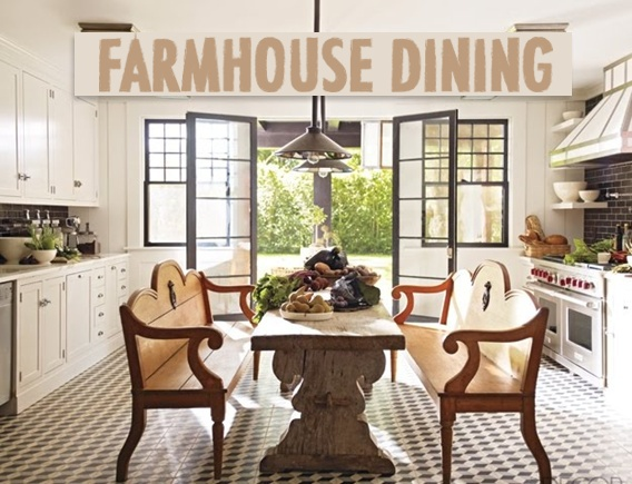 love the narrow table: The Doors, Idea, Benches, Floors, French Doors, Kitchens Tables, Black Windows, Elle Decoration, Country Kitchens