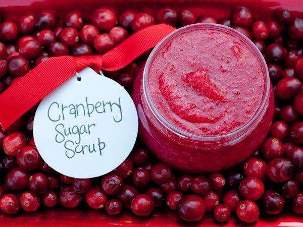 Cranberry Sugar Scrub