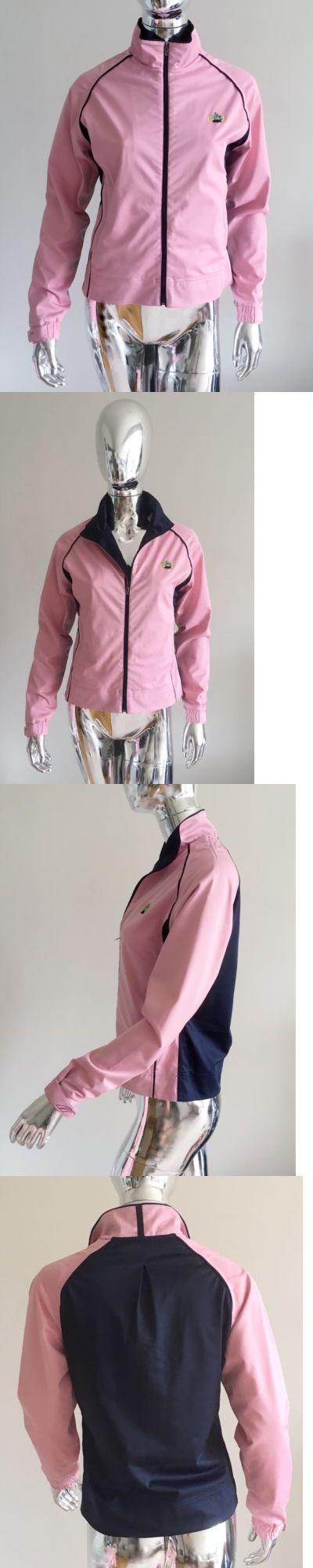 Coats and Jackets 181145: Glen Echo Women S Pink Navy Waterproof Breathable Golf Jacket W Adjust Cuffs Sz -> BUY IT NOW ONLY: $59 on eBay!