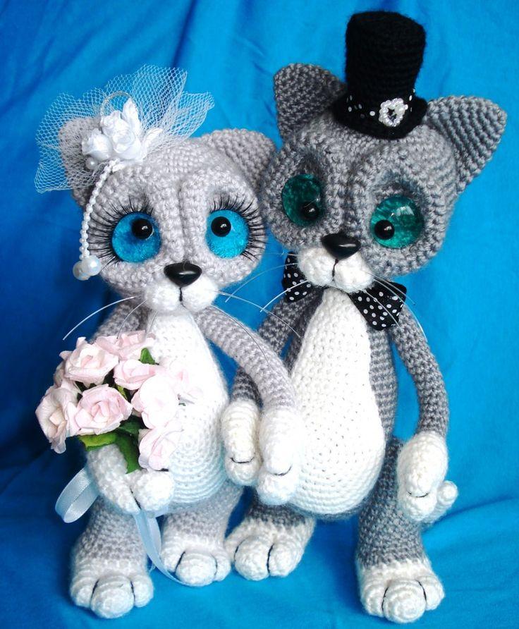 Big Cat Amigurumi : 206 best images about igrushki on Pinterest Cats, Sewing ...
