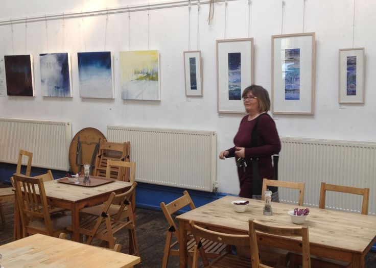 A new exhibition has just gone up at Blue Moon Cafe, Sheffield city centre, by the Pennine Artists group. Enjoy fab veg/vegan food & art!