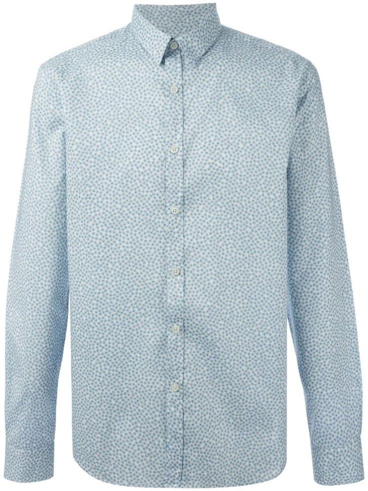 paul smith flower print slim fit shirt Light Blue #alducadaosta #business #meeting #businessmeeting #men #apparel #style #fashion #inpiration #inspo #streetstyle #paulsmith