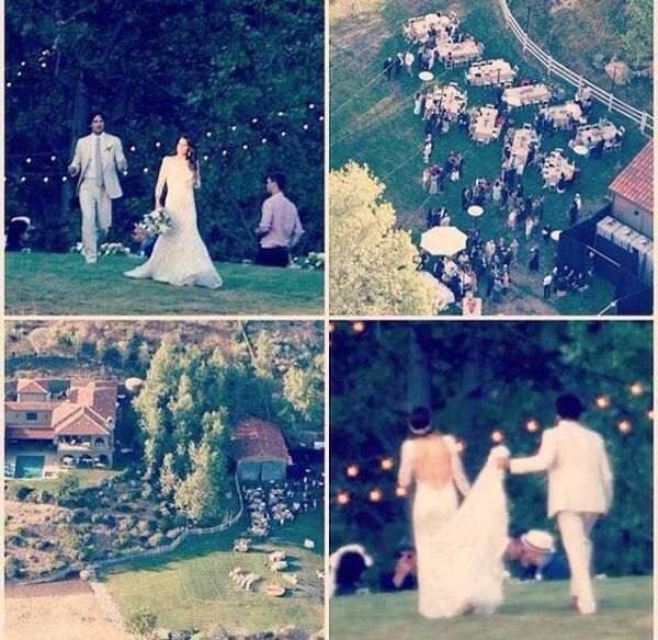 Ian Somerhalder/Nikki Reed Wedding