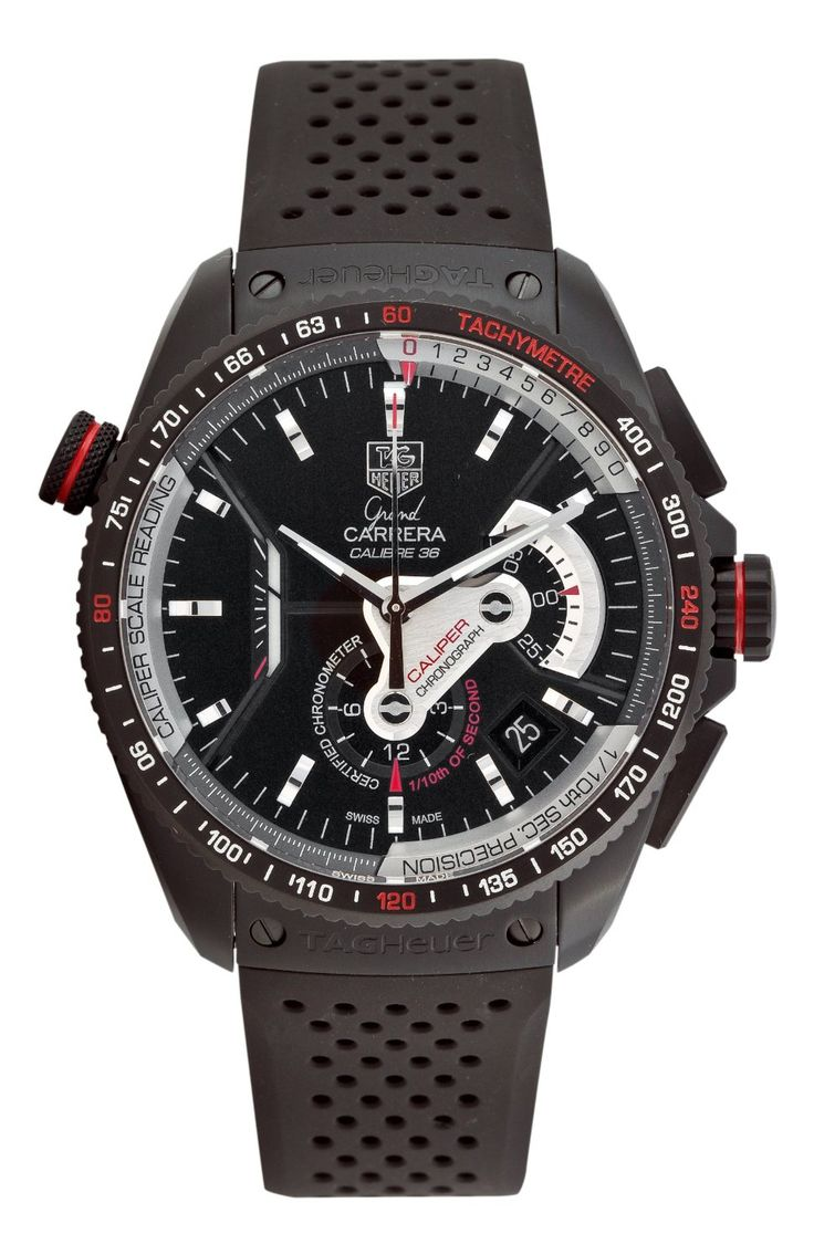 OMG... goodness!    TAG Heuer Grand Carrera Automatic Chronograph