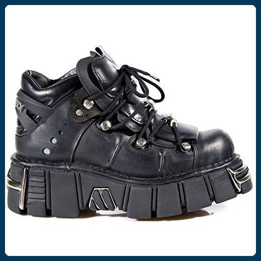 New Rock Boots Lederstiefel schwarz Style 1011 - Stiefel für frauen (*Partner-Link)