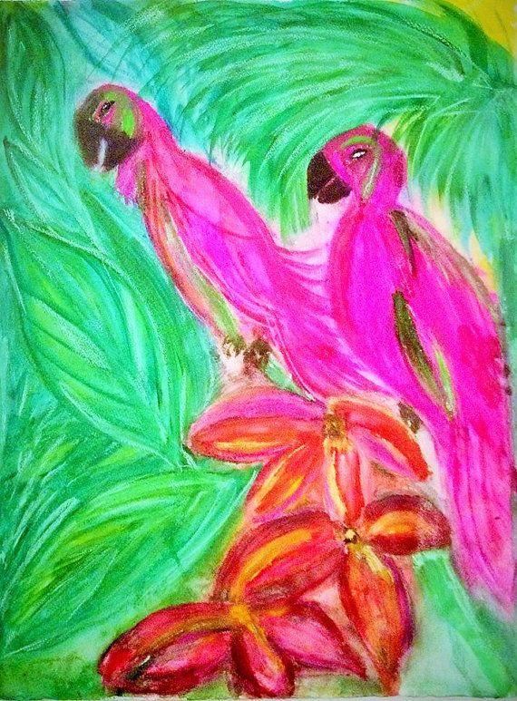 ORIGINAL Watercolor Painting by Signe Goldeneye. by SigneGoldeneye