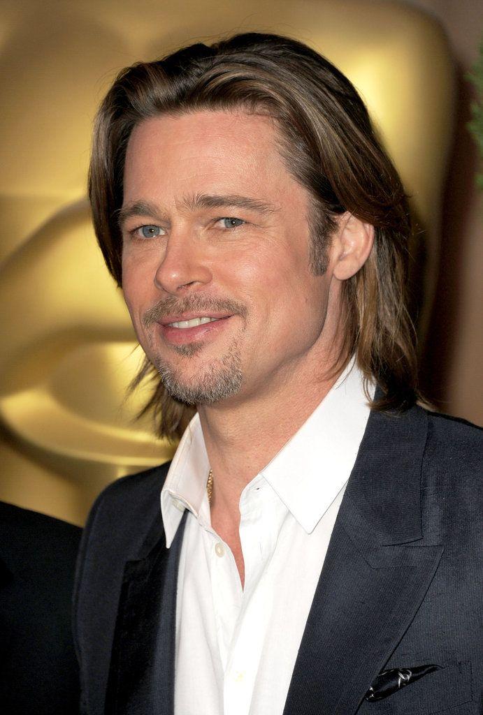 Brad Pitt long hair | Men Hairstyles | Pinterest | Hair ...