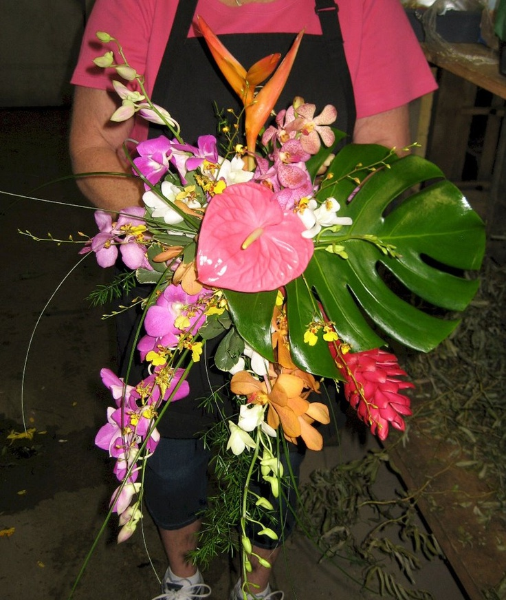 Shop Silk Bird Of Paradise And Anthurium Tropical: 8 Best Tropical Wedding Designs Images On Pinterest