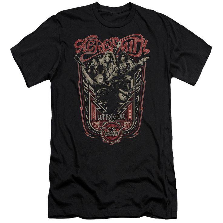 "Aerosmith ""Let Rock Rule"" Tee"