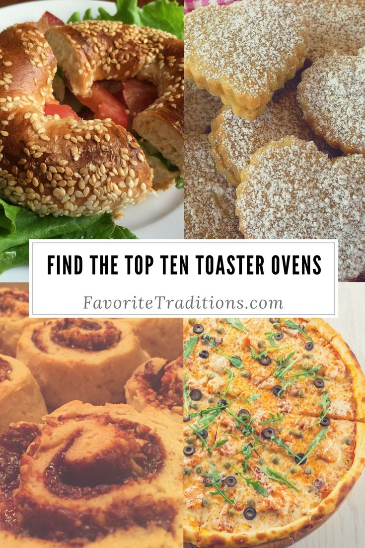 Find The Top Ten Toaster Ovens