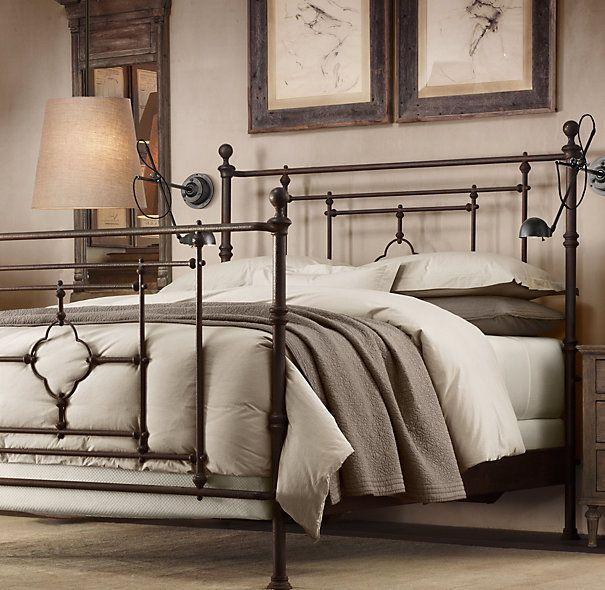 19th C. Quatrefoil Iron Bed | Restoration Hardware