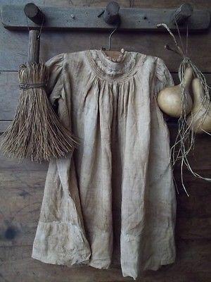 Great Primitive Wooden Peg Rack Gathering w Old Dress Gourds Broom | eBay