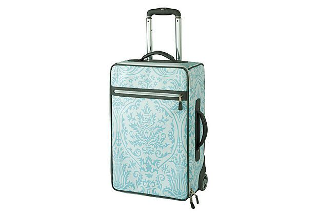 Carry-On Trolley, Sky Blue on OneKingsLane.com