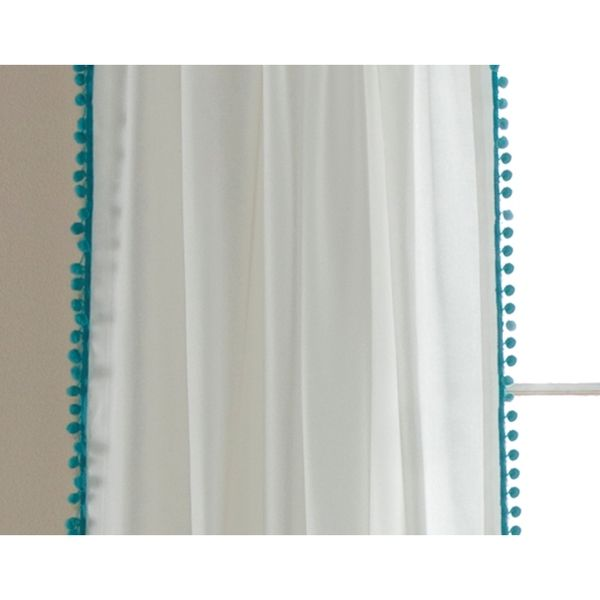 Lush Decor Pom Pom 84-inch Curtain Panel - Overstock™ Shopping - Great Deals on Lush Decor Curtains