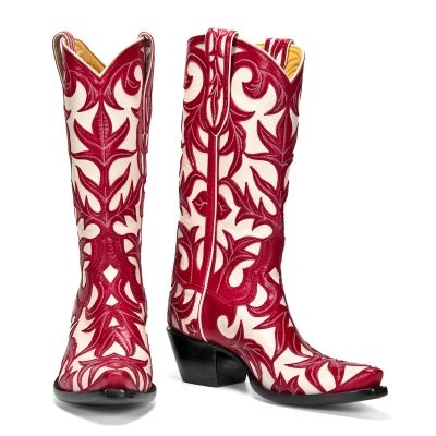Soooooo sweet.: Cowgirl Boots, Boots Galas, Red Boots, Boots Fit, Black White, Cowboys Boots, Monet Black, Monet Red, Boots Scootin