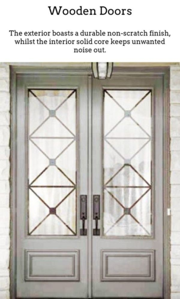 Wooden Doors Real Wood Doors Are Good If You Live In A Period House Or Even Choose To Add More Time Custom Front Entry Doors Front Entry Doors Exterior Doors