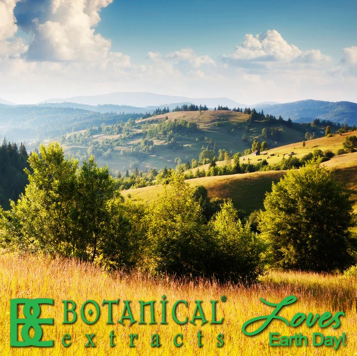 Botanical Extracts loves Earth Day!