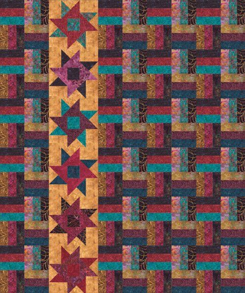 free Tonga Boysenberry Quilt Pattern by Timeless Treasures