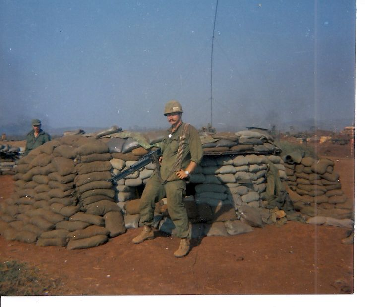 Ron Ryan shortly before the Siege of Khe Sanh began. Photo courtesy of Michael E. O'Hara.