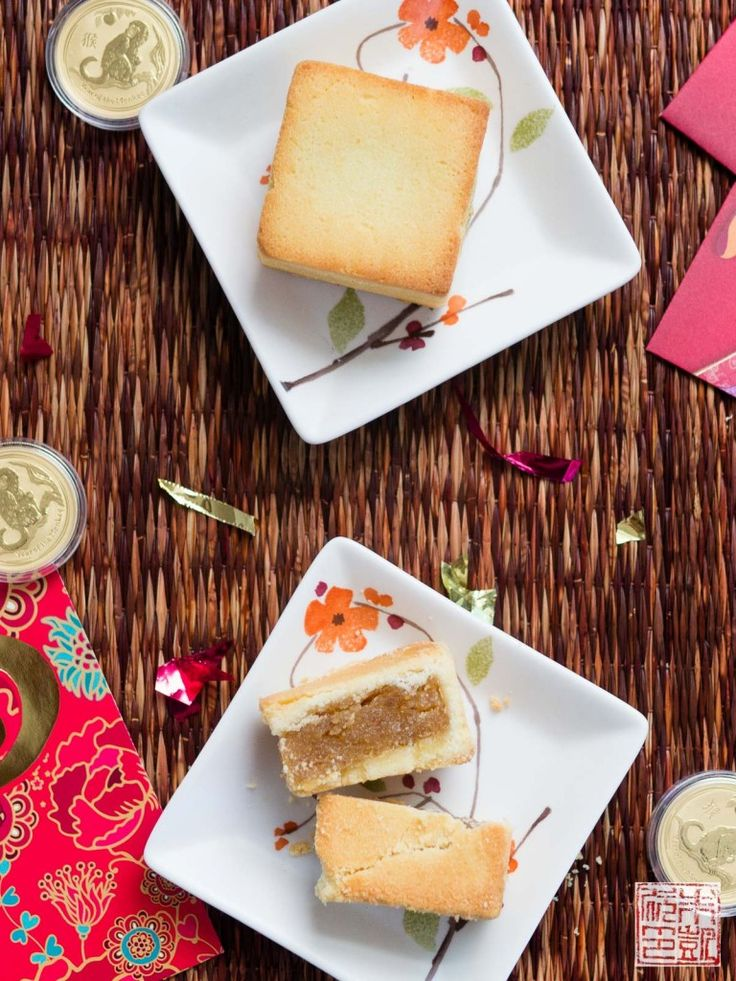 Chinese Pineapple Cakes for Chinese New Year--or any other time for that matter! Pineapple is all the rage. They're super sweet and delicious--like this cake!