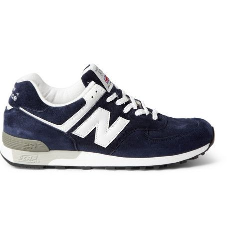 New Balance 576 Suede Sneakers | MR PORTER