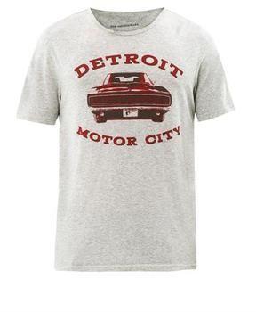 JOHN VARVATOS STAR USA Detroit motor city-print T-shirt on shopstyle.co.uk