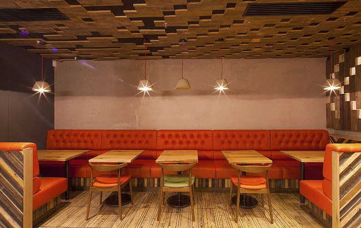 Nando's Manchester Piccadilly: Harrison - Restaurant & Bar Design