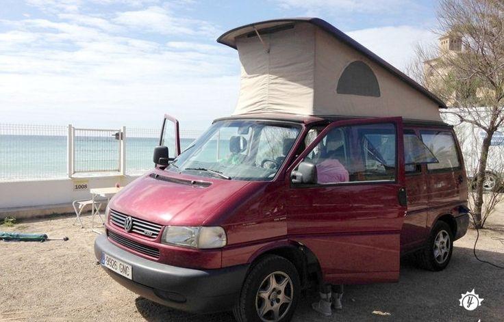 Alquiler Camper   - Barcelone   - Volkswagen California T4 7dw Tdi 1999   | Yescapa