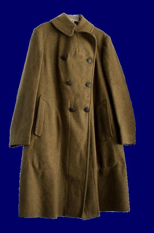 Us Army Wool Overcoat American Soldiers Wool Overcoat War