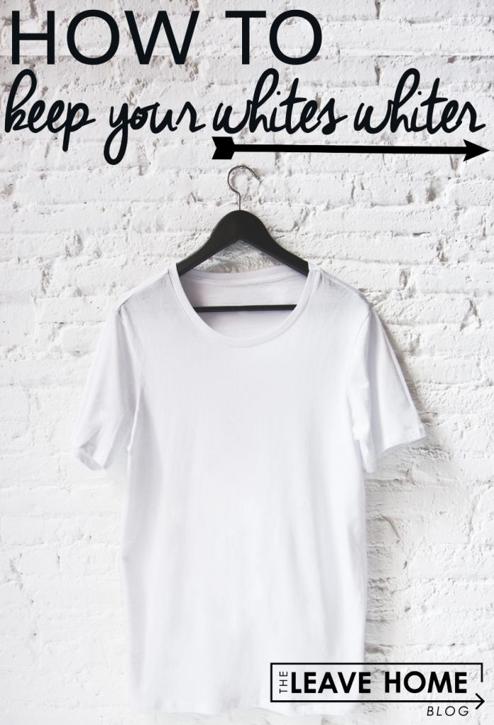 Laundry: How to keep your white clothes whiter | Leave Home Blog: Everything you need to know about leaving home.