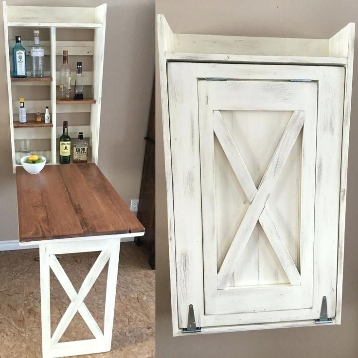 Wall Mounted Craft Table Best Fold Down Table Ideas On Fold Down