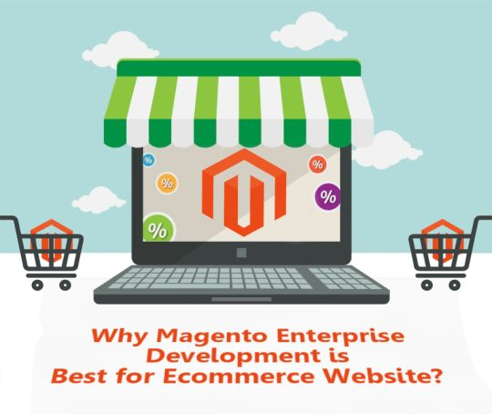 Why Magento Enterprise development is best for Ecommerce Website? http://bit.ly/2490VBS #ecommerce #magento #website