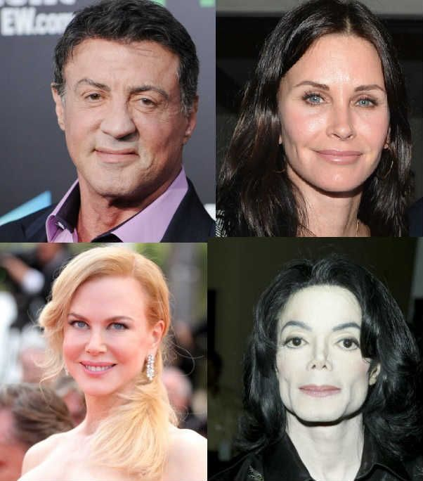 We've got a gallery of celebrities who have had plastic surgery…  Plastic and pretty or a cosmetic catastrophe?