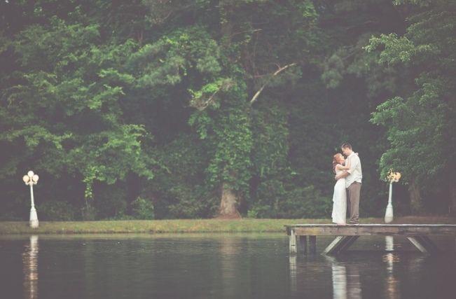 Rustic Lakeside North Carolina Wedding {Kelly Rae Stewart Photography}