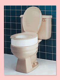 Carex Elevated Toilet Seat Has Worked Well For One Of My
