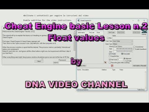Tutorial Cheat Engine Lezione base 2 - Valori decimali -  Android e PC