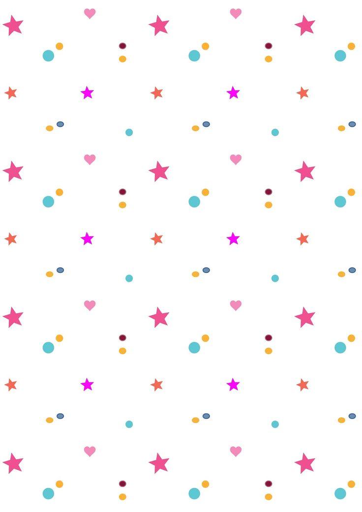 FREE printable confetti pattern paper | wonderconfetti