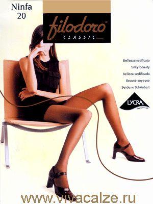 NINFA 20 Купить #колготки Ninfa 20 Filodoro Classic – это подарить себе комфорт и уверенность на каждый день.