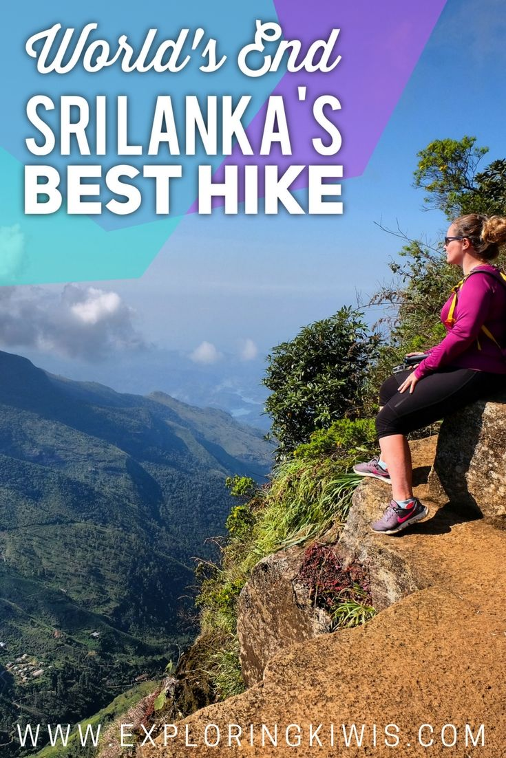 Sri Lanka's best hike, World's End, takes in gorgeous views, bush, rivers, waterfalls and more.  A must-do on your Sri Lankan itinerary! via @Exploring Kiwis