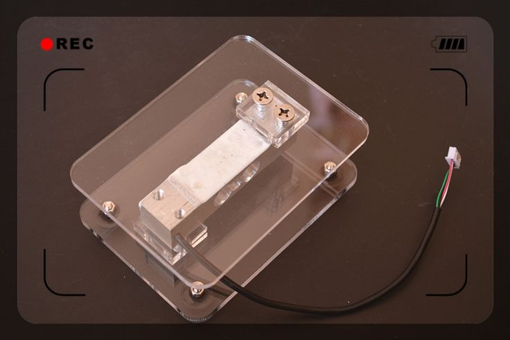 14.99$  Watch now - http://ali3zf.shopchina.info/1/go.php?t=32767483616 - electronic Scale Frame acrylic 10kg tray support resistance strain pressure sensor for hx711 arduino  #aliexpresschina