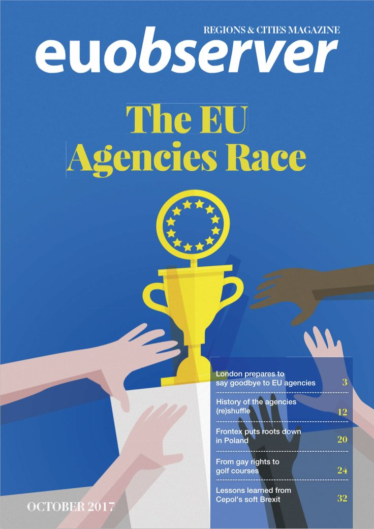 In this edition of EUobserver's Regions & Cities magazine, we take a closer look at some of the EU agencies, exploring how their location matters and the benefits for cities and regions to host them.