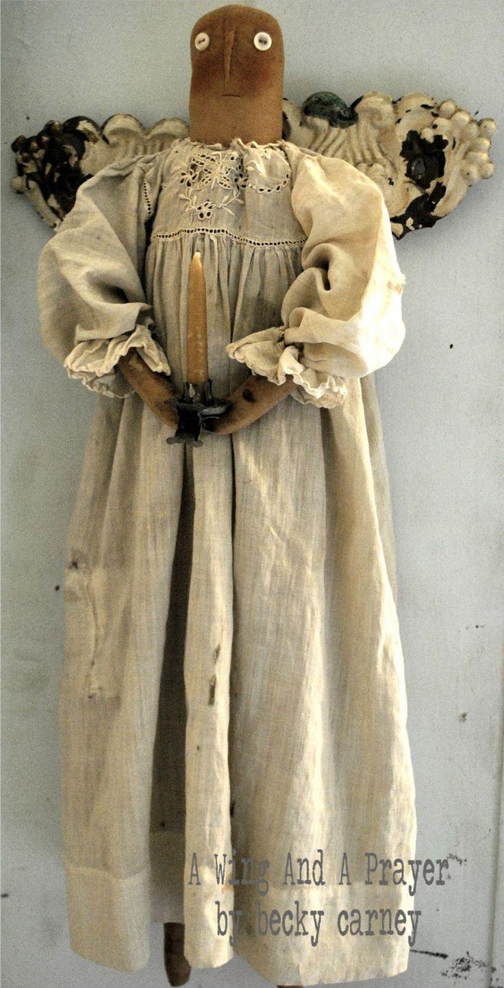 best primitive images on pinterest fabric dolls prim christmas