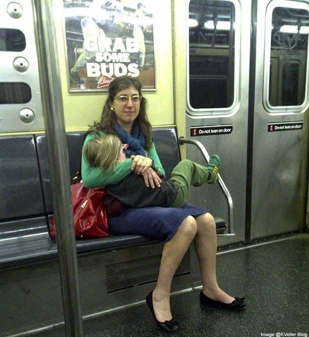 "Mayim Bialik has been an outspoken advocate for extended breastfeeding and attachment parenting, going so far as to share an image of herself nursing her 3-year-old son Fred on a New York City subway. She accompanied the photo with an essay about her decision, saying: ""I have written about my now-3-year-old son Fred and his nursing rhythms before. To recap: Fred nursed for a solid 12 months with no supplements, no solid foods, and not even a sip of water. He got the hang of eating solids…"