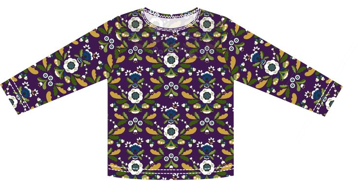 small dreamfactory: Free sewing tutorial and pattern easy to sew long sleeve T-shirt