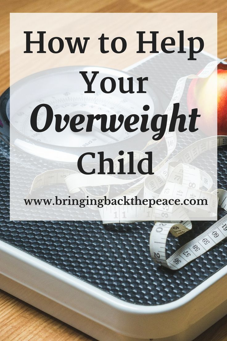 These tips can help you get your overweight child back on track to a healthy lifestyle. Great information!