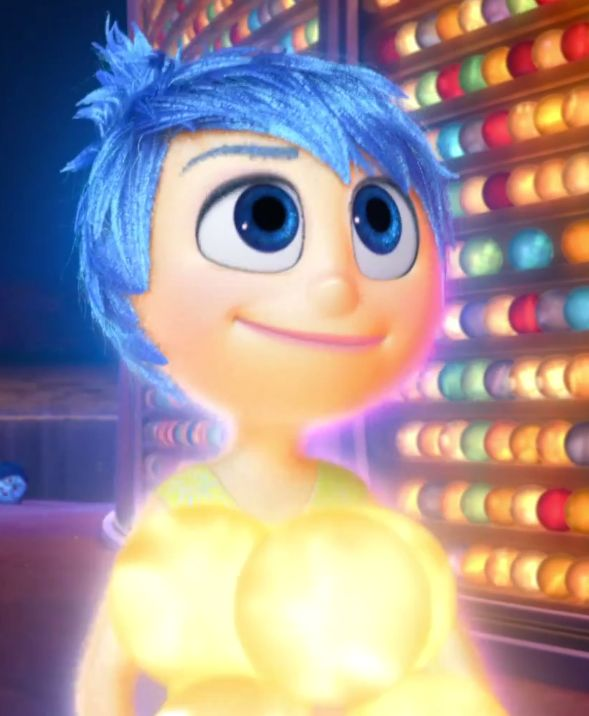Pin di Animated Heroines su Joy (Inside Out)