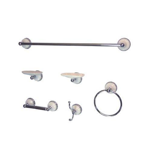 Accessories sets Chrome Complete Bathroom accessory set BAK1110C2