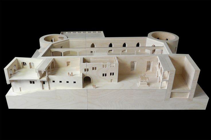 Architekturmodell Altes Schloss Stuttgart | Béla Berec Modellbau 1:50